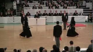 59th All Japan Kendo Championship (2011 3rd Nov. NIPPON BUDOKAN) UC...