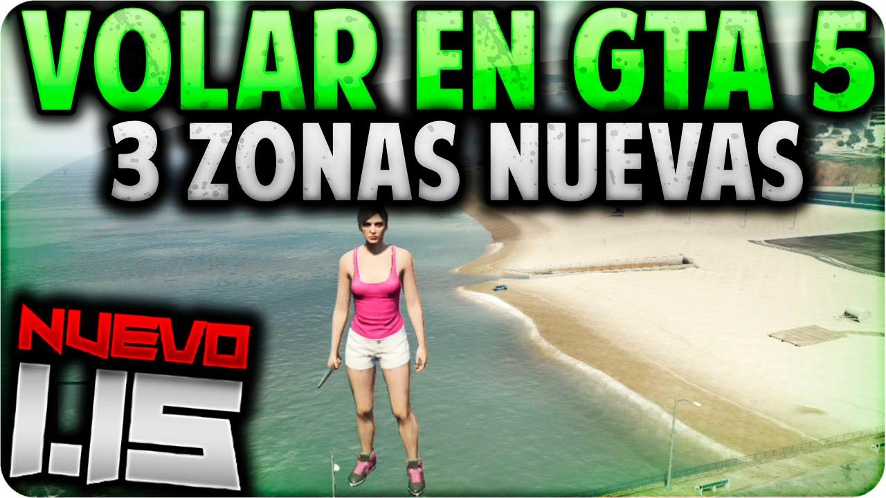 GTA V Online - 3 Nuevas Zonas para Volar por Los Santos Sin Hack - GTA 5