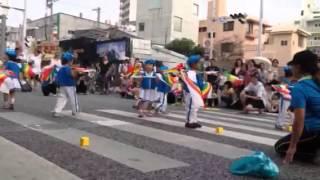 4歳の国際通りでのパレード映像.