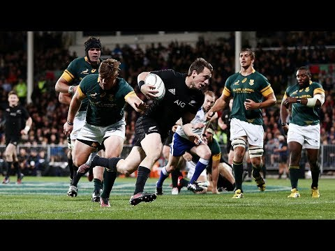 2016: All Blacks tries v South Africa