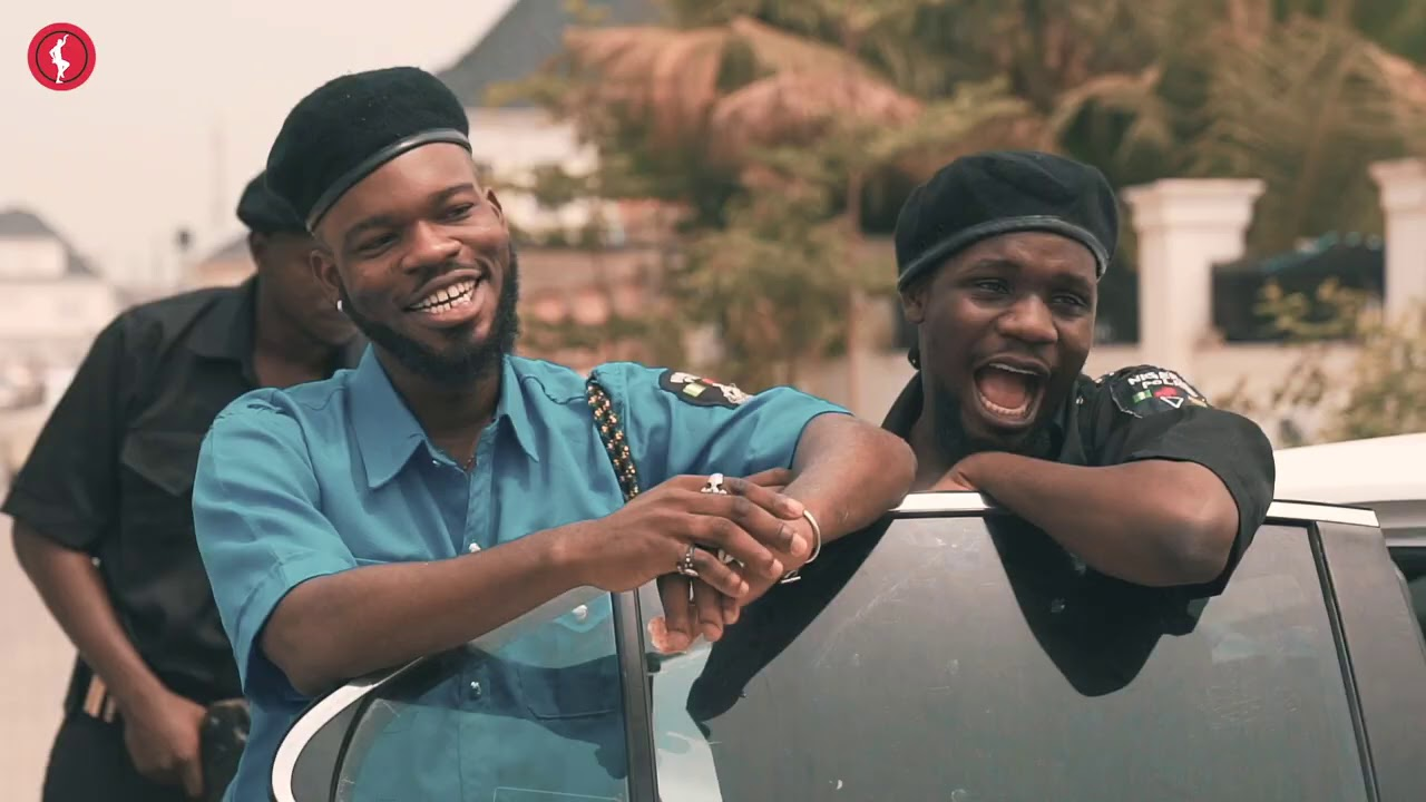 BRODA SHAGGI AND OFFICER WOOS CAUGHT BY THE REAL OFFICERS