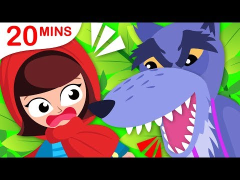 Princess Songs | Little Red Riding Hood | 5 Little Puppies Save Humpty Dumpty by Little Angel