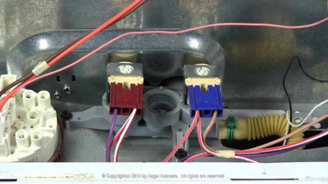 Water valve GE Hydrowave washer