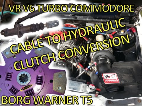 T5 CABLE TO HYDRAULIC CLUTCH - BORG WARNER - COMMO