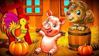 Развивающий мультфильм про животных 2 серии. Учим Животных . #Мультик Названия и голоса животных.