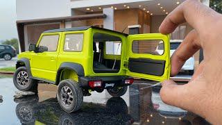 Unboxing of Mini Suzuki Jimny/Gypsy Sierra 2019 Diecast Model Car | Off-roading | Suzuki Collection Video