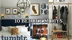 10 DIYS Room Decor 2017 Tumblr for Organization and Trendy Decor