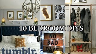 10 DIYS Room Decor 2017 Tumblr for Organization and Trendy Decor