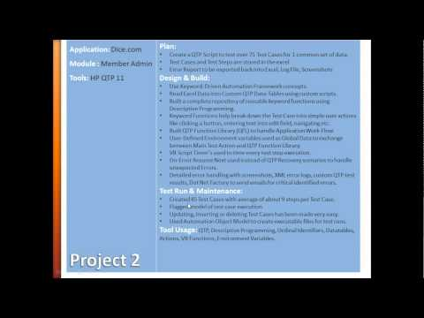 """CRACK your RESUME"" QTP Interview Selenium Resume QTP Jobs Selenium Testing Interview"