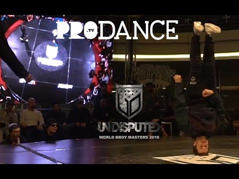 VICTOR VS BRUCE ALMIGHTY | PRE-ROUNDS | UNDISPUTED WORLD BBOY MASTERS 2016