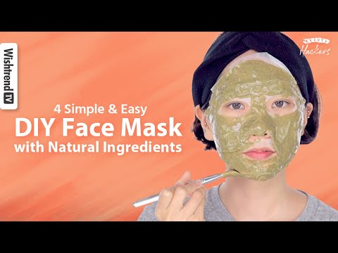 4 Diy Face Mask With 100 Natural Ingredients For Clear Skin Troubled Oily Skin Blackheads Youtube