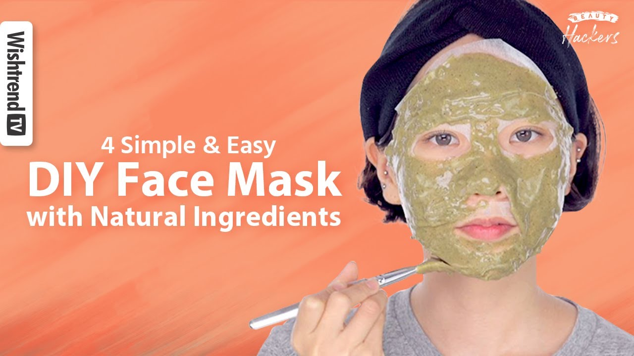 Face Mask with 100% Natural Ingredients