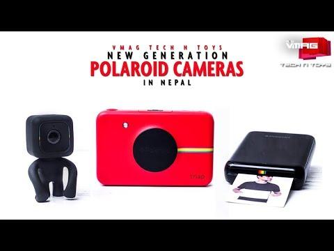 New Generations of Polaroid Cameras in Nepal |  Nepal Telecom Tech N Toys | VMAG