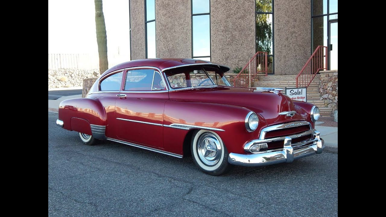 All Chevy 1951 chevrolet fleetline : 1951 Chevrolet Deluxe 2dr Slant Back - YouTube