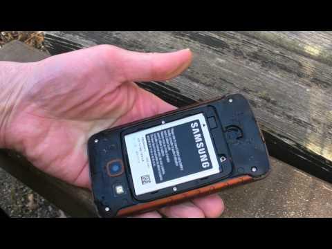 Samsung Galaxy Xcover im Härtetest
