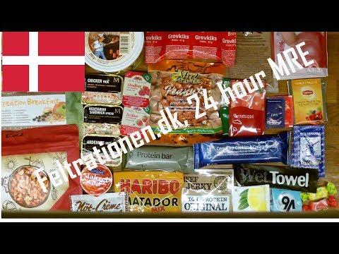 Thor-is-testing: Danish Civil ration, Feltrationen.dk