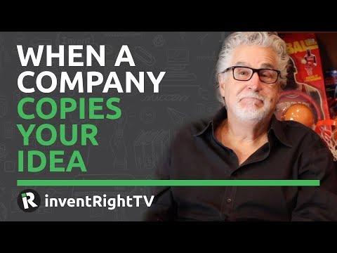 When a Company Copies Your Idea