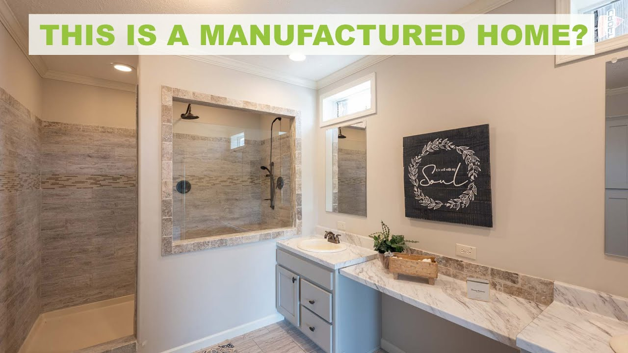 MASTER BATHROOM UPGRADE on this beautiful Manufactured Home
