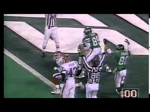 Boomer Esiason Hail Mary Touchdown at the Last Second