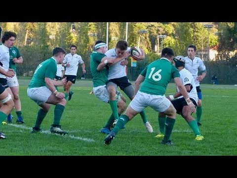 Irish Rugby TV: Portugal U-18s v Ireland U-18 Clubs - Try Highlights