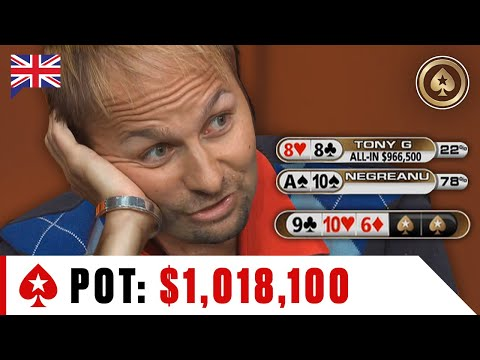 Negreanu Vs Tony G SHOWDOWN For BIGGEST POT In Big Game ♠️ Best Of The Big Game ♠️ PokerStars UK
