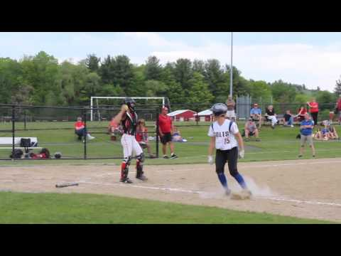 Alexis Ferris completes perfect game for Hampshire Regional High School softball