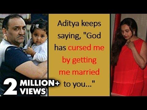 Aditya Chopra Feels CURSED Marrying Rani Mukerji | SHOCKING Statement