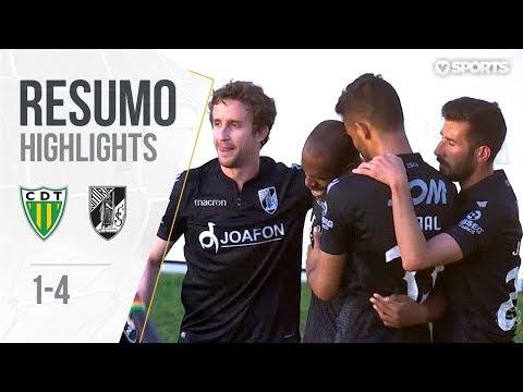 Highlights | Resumo: Tondela 1-4 V. Guimarães (Liga 17/18 #33)