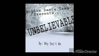 Incroyable-Roblox Dance Teams