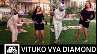 Tanasha bado hajajifungua Diamond Amchezesha Yope Mauno kama yote