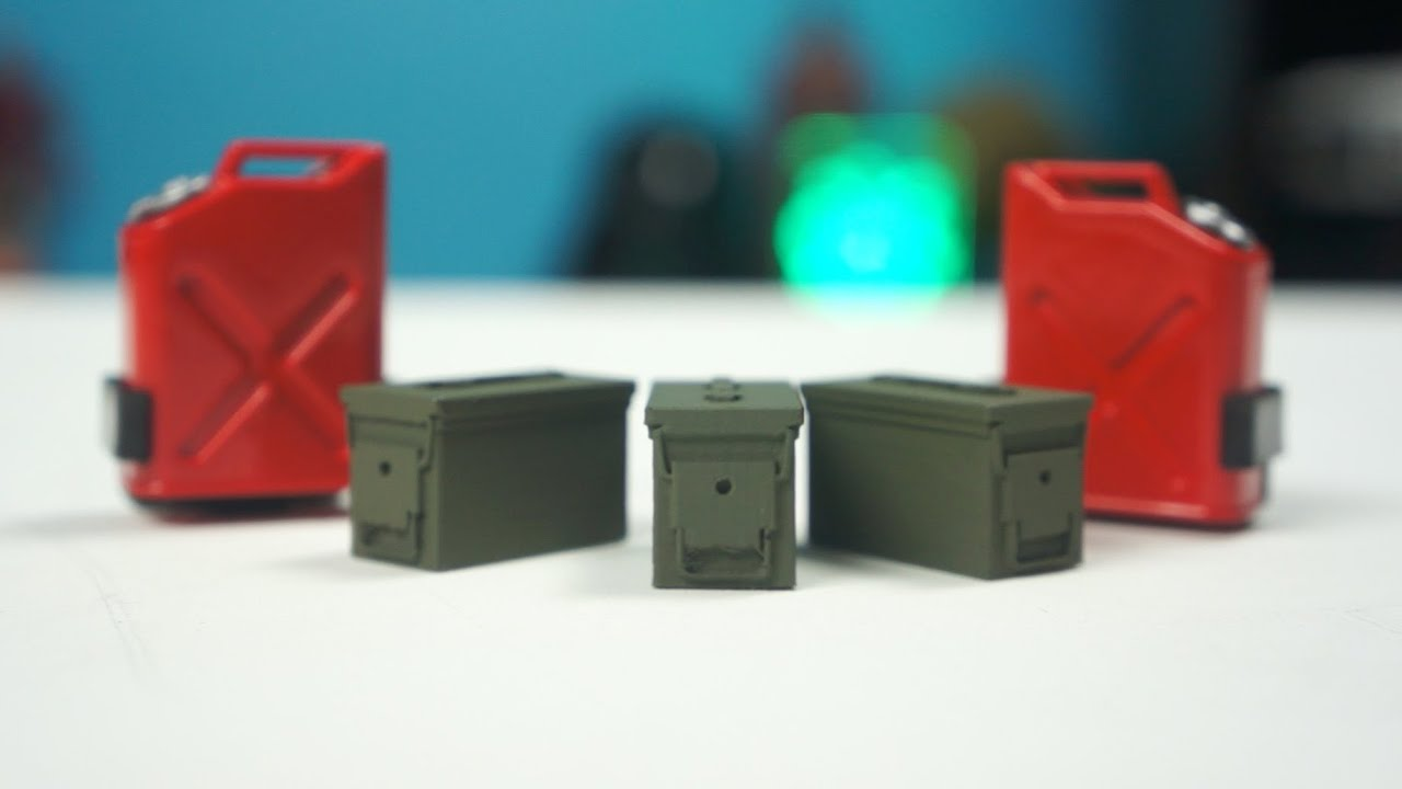 Rc Scale Accessories Integy Jerry Cans Amp Dspro Ammo Cans