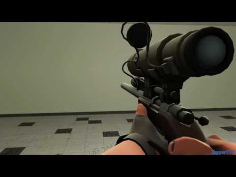[SFM] Team Fortress 2 Guns Reanimated