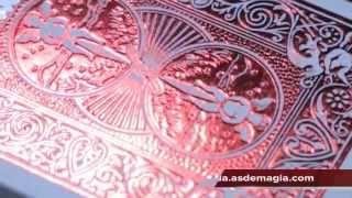 Vídeo: Baraja Bicycle MetalLuxe Crimson V2
