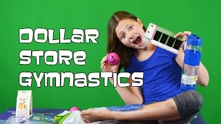 Dollar Store Gymnastics |  How Gymnasts Can Save Money | Bethany G