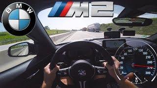 2017 BMW M2 (0-270km/h) POV- TOP SPEED, Acceleration TEST✔