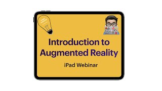 Introduction to Augmented Realty   (iPad Tutorial 2020). AR Makr, Hologo and Merge Cube