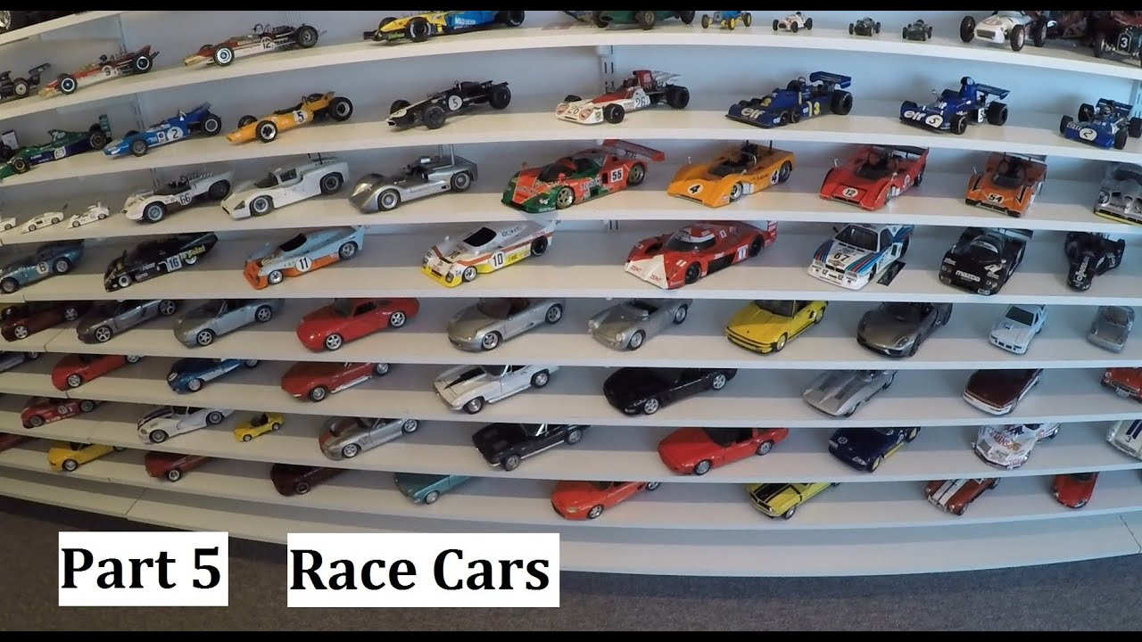 My Amazing 1 18 Diecast Car Collection Part 5 Race Cars Youtube