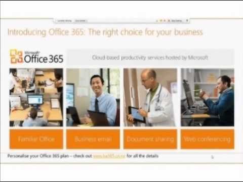 Introducing Office 365 The right choice for your business