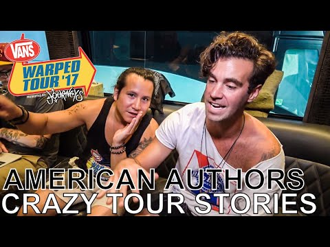American Authors - CRAZY TOUR STORIES Ep. 577 [Warped Edition 2017]