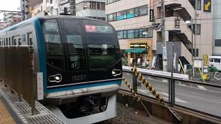 【東京メトロ】15000系 JR線直通 快速三鷹行き 西船橋駅入線【東西線】