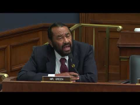 Rep. Al Green Questions HUD Secretary Ben Carson