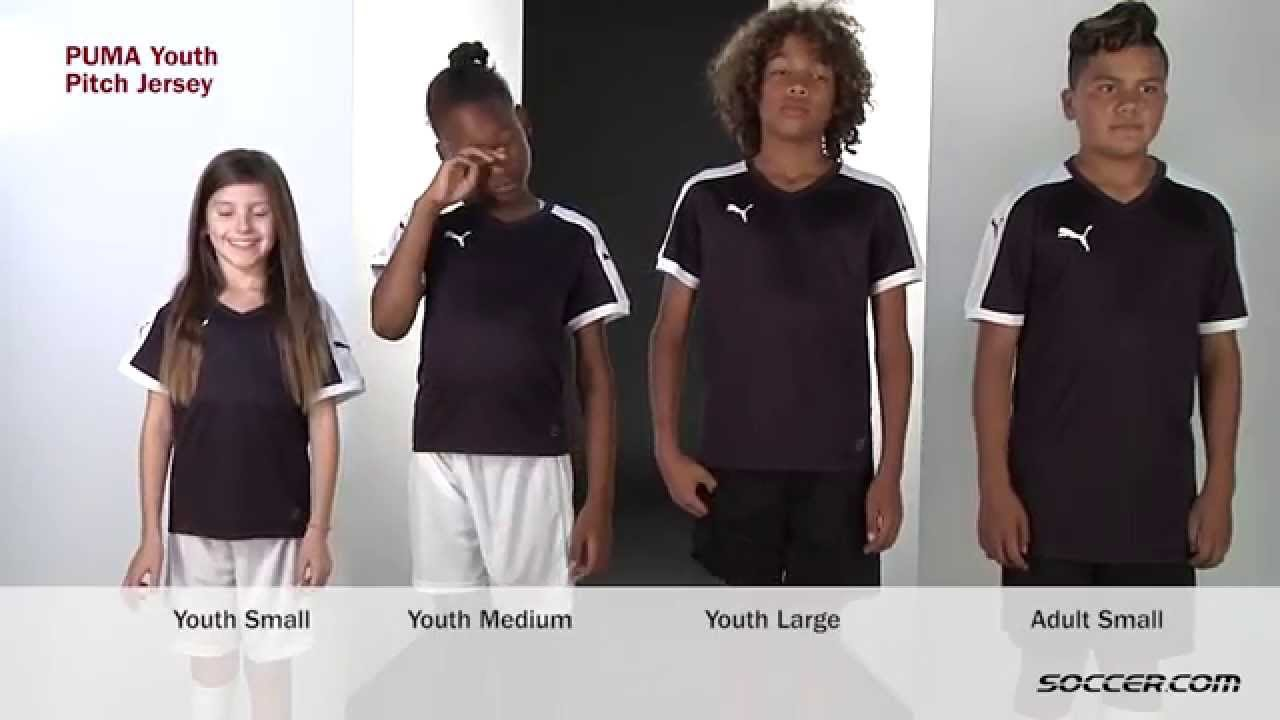 cc56a16b6d2 PUMA Youth Pitch Jersey - YouTube