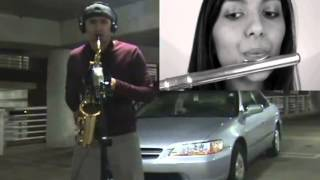 Say Something Flute and Saxophone Duet