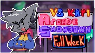 [FNF] VS. KAPI - Arcade Showdown | The Full Week Showcase