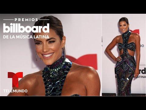 Gaby Espino deslumbra con un vestido de lentejuelas en la alfombra roja de los Billboard 2020