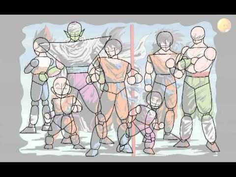 Personaggi Dragonball Da Disegnare Youtube