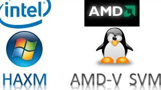 How to run android studio emulator on AMD tutorial HAXM error