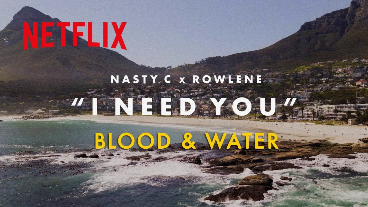 Download Blood & Water   I Need You Lyric Video (Nasty C & Rowlene)   Netflix