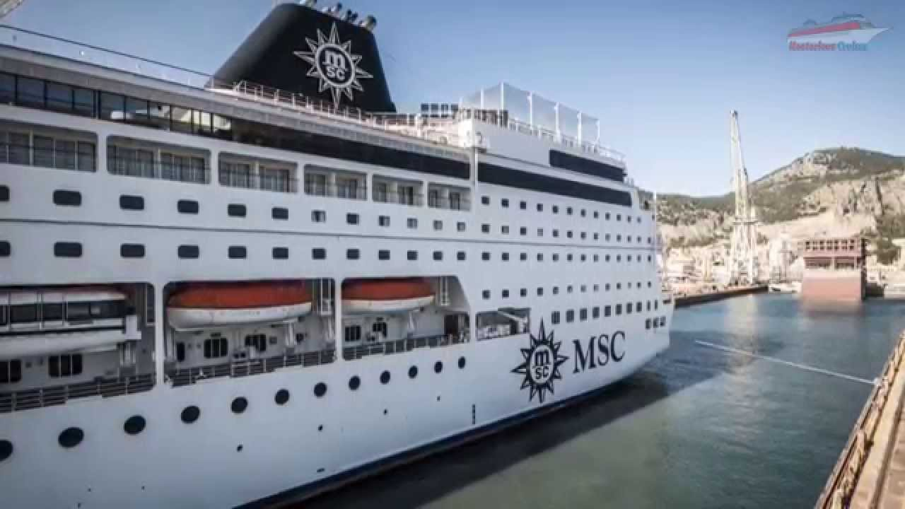 MSC Sinfonia  Cut In Half For Renaissance Programme  YouTube