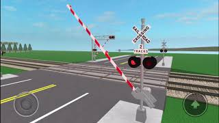 Railroad Crossings of City Of Scottville, CA ROBLOX